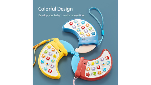 Early childhood education smart light and music puzzle phone