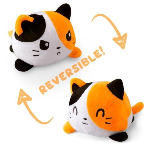 REVERSIBLE CAT PLUSHIE