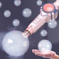 Bubble Gun, Electric Spray Smoke Fog Bubbles Blower Toy