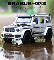 New Arrives ! 1:32 Brabus G-700 car model(Collector's Gospel)