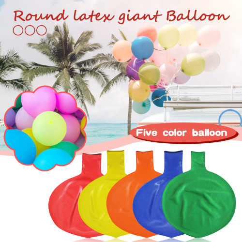 Inch Latex Giant Human Egg Balloon Round Climb-in Wedding Balloon For Funny Birthday Children Game Outdoor Decor Toys