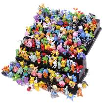 144 pcs Pokemon Mini Genies PVC Action Figures, 3cm