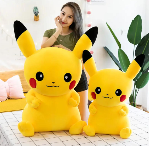 New Arrives ! Pikachu high elasticity plush toy