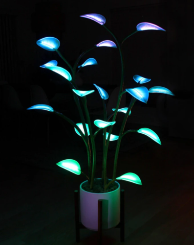 The Magical LED Houseplant