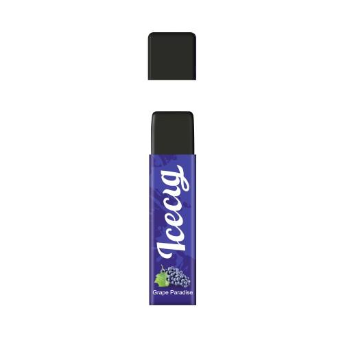Grape Paradise flavor Icecig D09 disposbale pod device dustproof cover