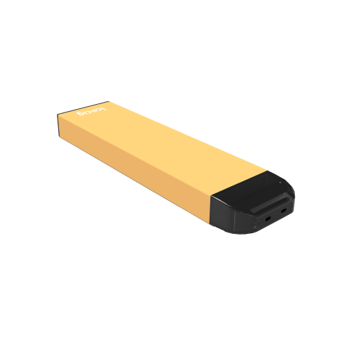 Icecig D03 paint color edition singles 600fuffs Yellow