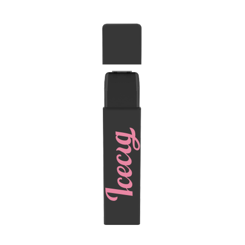 Icecig D09 paint color edition singles 400fuffs Pink logo