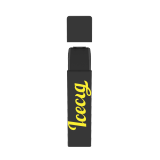 Icecig D09 paint color edition singles 400fuffs Yellow logo