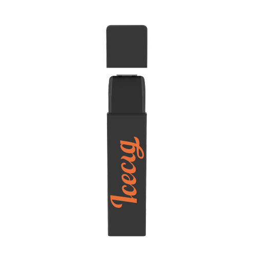 Icecig D09 paint color edition singles 400fuffs Orange logo
