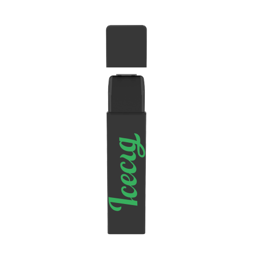 Icecig D09 paint color edition singles 400fuffs Green logo