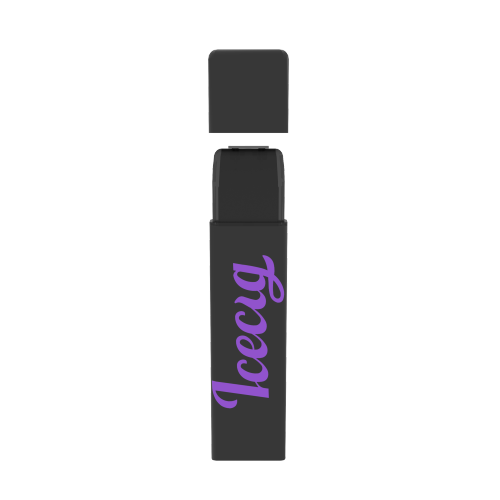 Icecig D09 paint color edition singles 400fuffs Purple logo