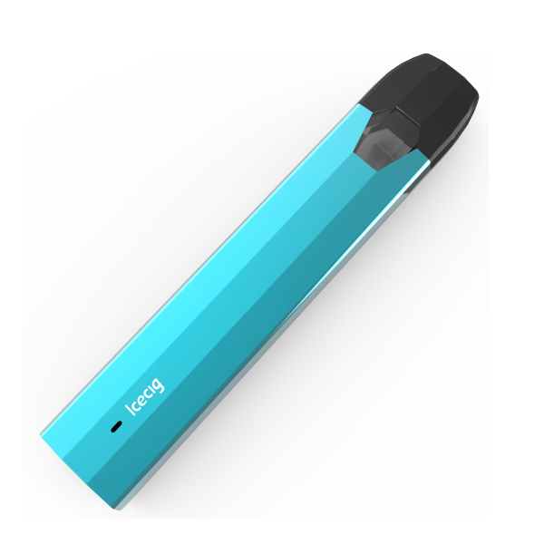 Icecig K11 Disposable Vape With Metal Free Pod Part CBD Unique square ceramic coil Blue