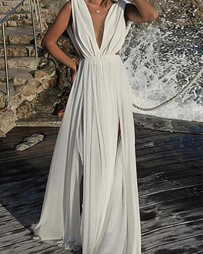 Women's 2020 Maxi Slim Swing Dress