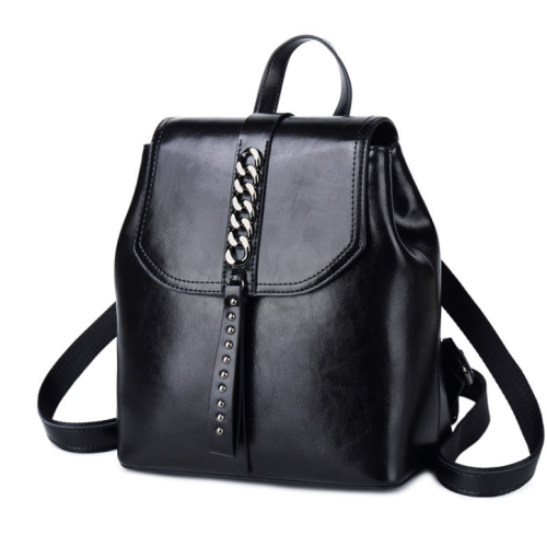 Lokeeda Bag: 2020 New And Fashional Woman Leather Travel Backpack