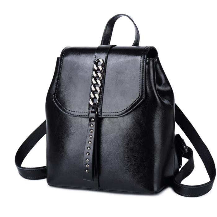 Lokeeda Bag: 2020 New And Fashional Woman Leather Travel Backpack