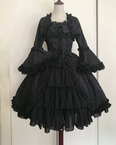 Women's Royal Gothic Vintage Medieval Mini Dress Skirt