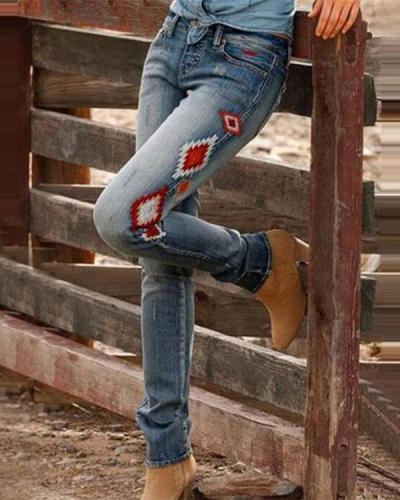 Simple Cowboy Pants For Women