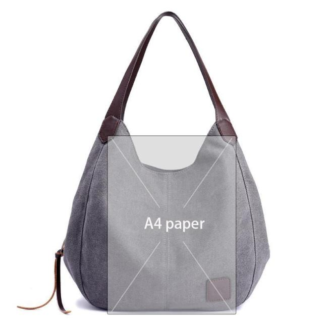Canvas Leisure Shoulder Bag Messenger Bag