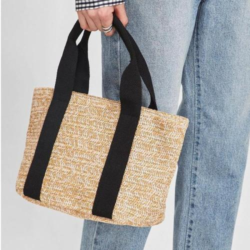 Women's Casual Beach Style Woven Cotton Shoulder Bags