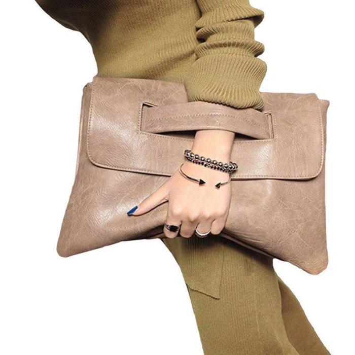 Women's Envelope Trendy Work Bags Clutche Bag
