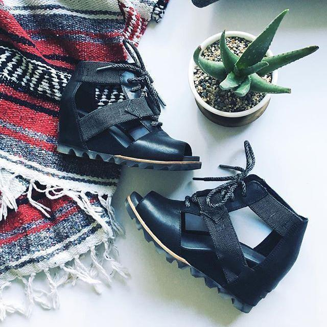 Spring And Summer High Slope With Lace-Up Sandals