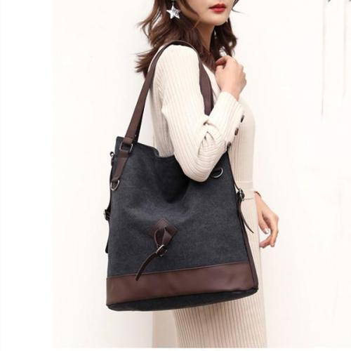 Women Canvas Large Capacity Bag Leisure Shoulder Bags