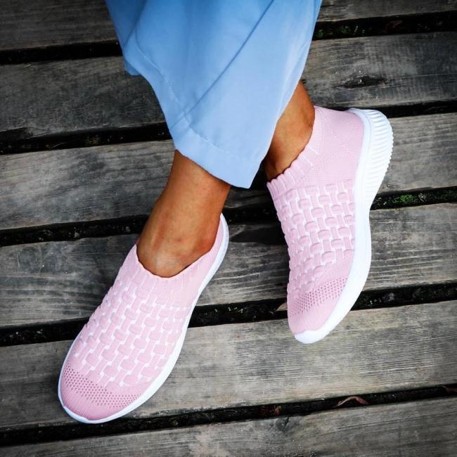 Fashion Solid Color Platform Sneakers