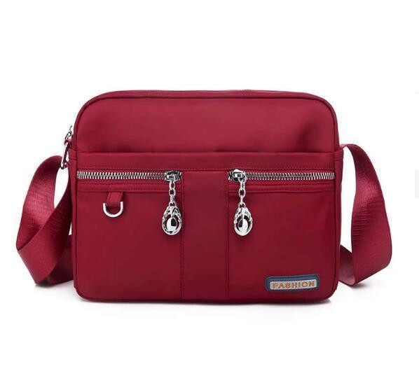 Fashion Waterproof Nylon Multi-pocket Women Crossbody Bags