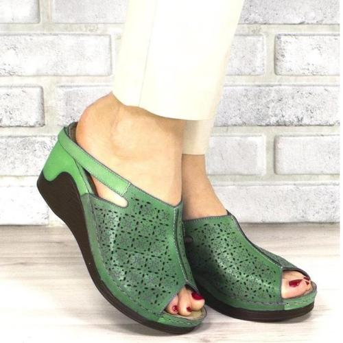 Women's Casual Wedge Heel Peep Toe Sandals