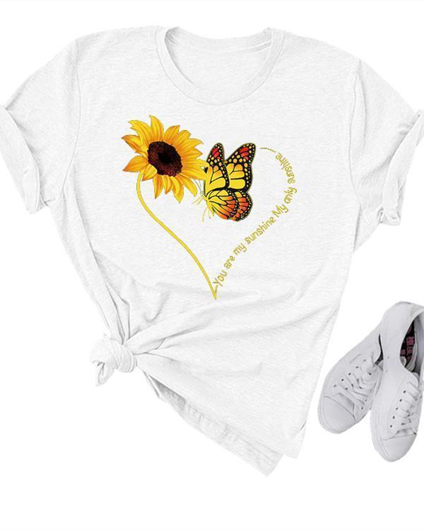 Printed Short Sleeve Shirts & Tops