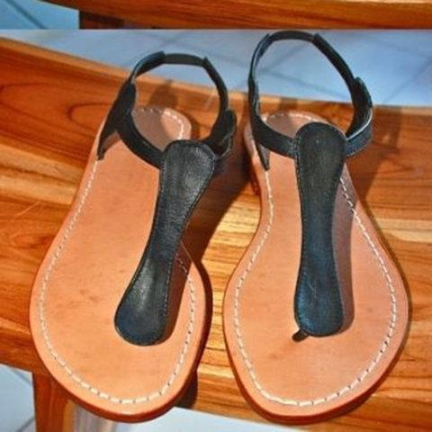 Beach Summer Low Heel Sandals