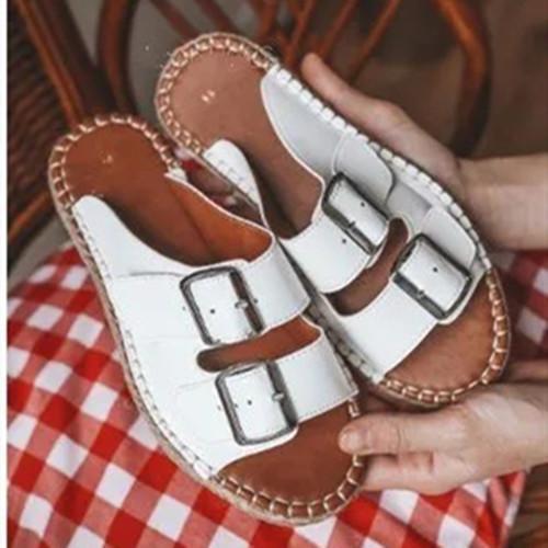 Summer Pu Tassel Sandals