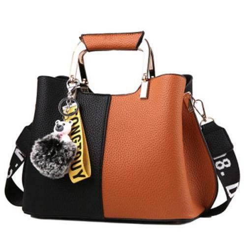 Large Capacity Crossbody Bag Simple Handbag