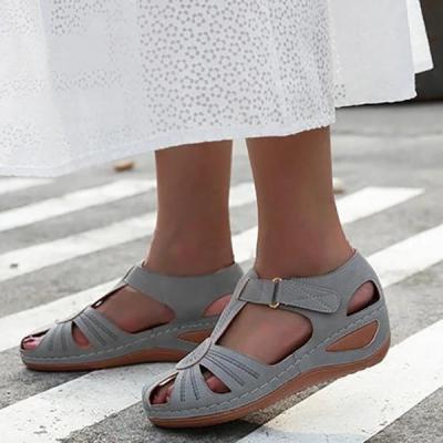 Women's Summer Round Head Thick Sandals