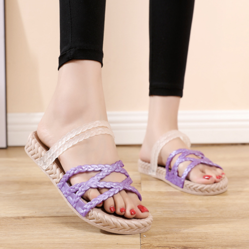 2020 New And Fashional Round Toe Flat Summer Sandals