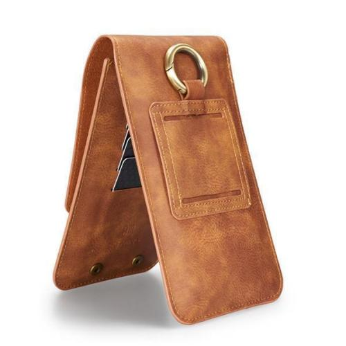5.5/6.5 inch Genuine Leather Phone Bag Card Slot Purse Wallet