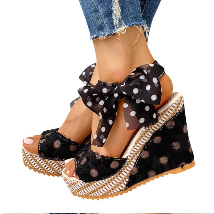 Ladies Fashion Platform Wedges Heel Sandals