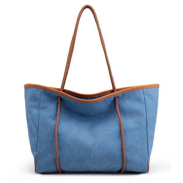 Casual Outdoor Canvas Large Capacity Shoulder Bag