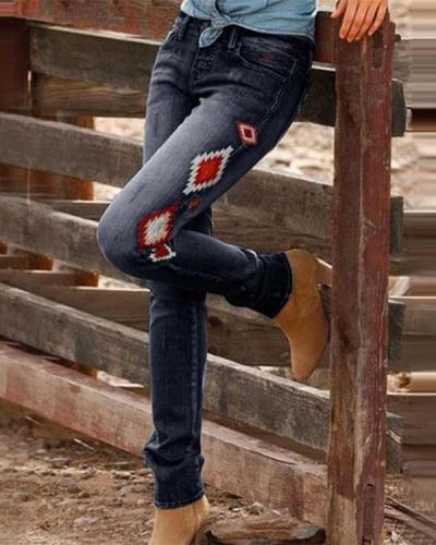 Simple Cowboy Pants For Women