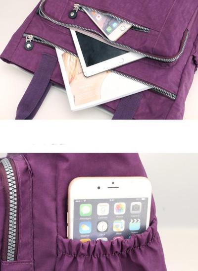 Multi Pockets Large Capacity Waterproof Nylon Handbag Shoulder Bag