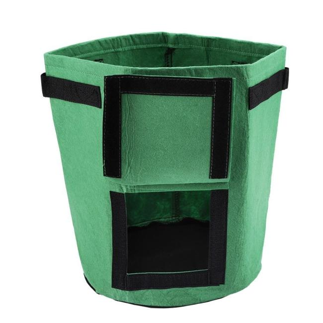 Tomatoes Potato Grow Bag Fruits Vegetables Planter Pots Breathable Nonwoven Cloth with Strap Handles
