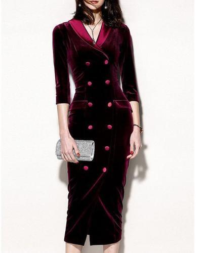 Women's Street chic Chinoiserie Shift Sheath  Midi Dress
