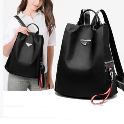 Multi-functional Waterproof Soft Oxford Backpack Casual Bag