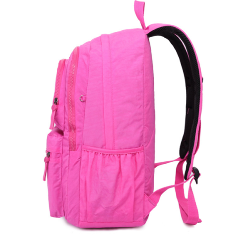 Outdoor Travel Waterproof Nylon Casual Multi Pockets Backpack School Bag