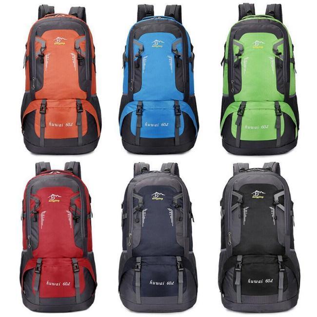 60L Outdoor Backpack Hiking Backpack