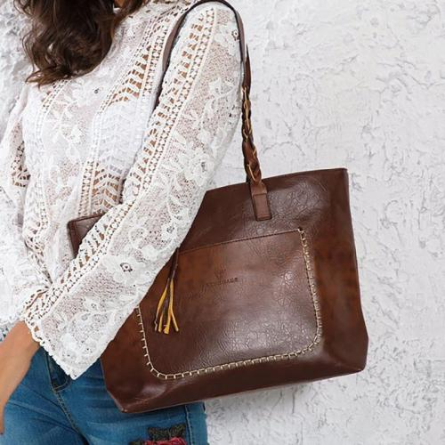 Women Vintage Shoulder Bags Leather Handbags