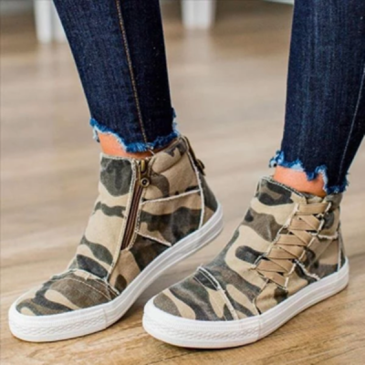 Casual Daily Stylish Flat Sneakers