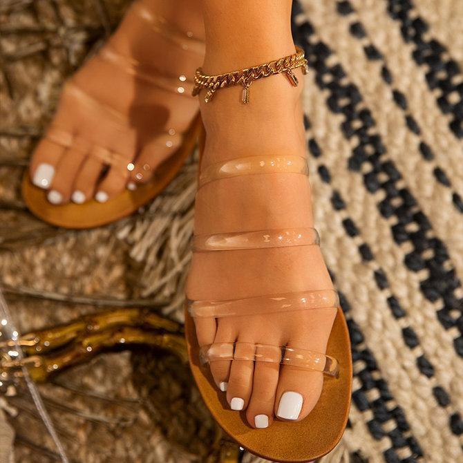 Plastic Home Wear Slippers