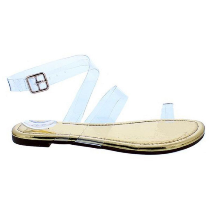 2020 New And Fashion Woman Transparent Style Sandals