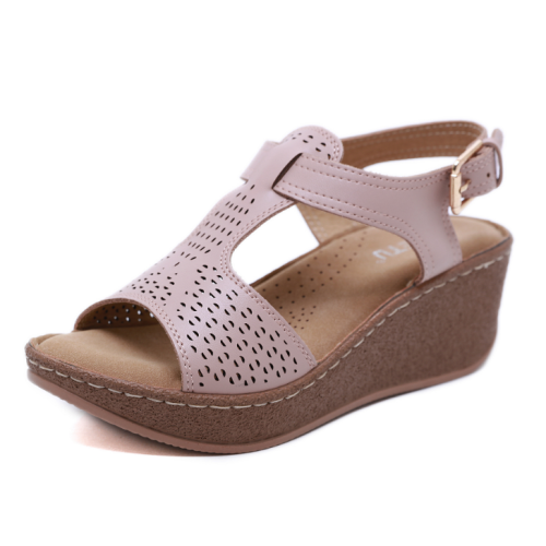 2020 New  Woman Casual Chunky Beach Sandals